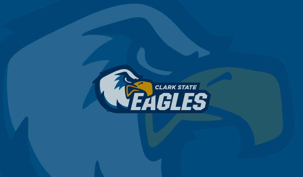 New Clark State Eagles mascot and logo